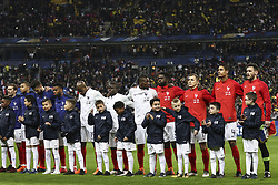 March 23, 2018 - Saint-Denis, Ile-de-France, France - France Team, during the friendly football match between France and Colombia at the Stade de France, in Saint-Denis, on the outskirts of Paris, on March 23, 2018. (Credit Image: © Elyxandro Cegarra/NurPhoto via ZUMA Press)