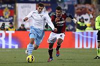 """Miroslav Klose Lazio.Bologna 10/12/2012 Stadio """"Dall'Ara"""".Football Calcio Serie A 2012/13.Bologna v Lazio.Foto Insidefoto Paolo Nucci."""