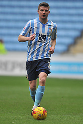 ADAM ARMSTRONG COVENTRY CITY, BATTLES WITH FLEETWOODS VICTOR NIRENNOLD, CHRIS STOKES COVENTRY CITY Coventry City v Fleetwood Town Ricoh Arena, Sky Bet League One Saturday 27th February 2016