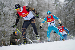 SHULGA Dmytro Guide: GERGARDT Artur, Biathlon Middle Distance, Oberried, Germany