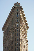 top of Flatiron a landmark building in NYC
