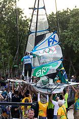 Day  10 - Aug 18 - 49erFX - Rio 2016