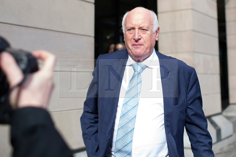 © Licensed to London News Pictures. 15/10/2019. London, UK. Former Chairman of Thomas Cook Frank Meysman departs Portcullis House after appearing in front of a select committee . Photo credit: George Cracknell Wright/LNP