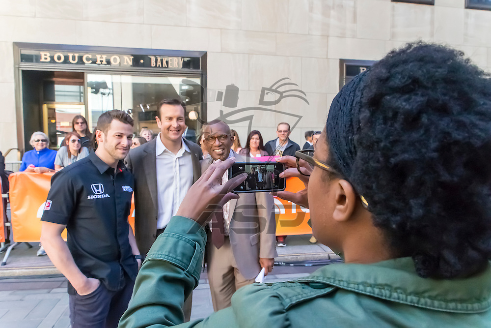 New York City, NY - May 20, 2014:  Kurt Busch travels to New York City to meet with the media before attempting the Indianapolis 500 and the Coke 600 on Memorial Weekend. <br /> <br /> MANDATORY PHOTO CREDIT:  Walter G. Arce, Sr. KBI/ActionSportsInc.com