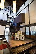 Photo shows Suehiro Sake Brewery in Aizu-wakamatsu City, Fukushima, Japan on 15 March 2013.  Photographer: Robert GilhoolyPhoto shows the entrance to the Suehiro Sake Brewery in Aizu-wakamatsu City, Fukushima, Japan on 15 March 2013.  Photographer: Robert Gilhooly
