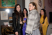 LEILA DUPUY; IVANA HRNJEZ;,  Party hosted for ~Jason Wu by Plum Sykes and Christine Al-Bader. Ladbroke Grove. London. 22 March 2011. -DO NOT ARCHIVE-© Copyright Photograph by Dafydd Jones. 248 Clapham Rd. London SW9 0PZ. Tel 0207 820 0771. www.dafjones.com.