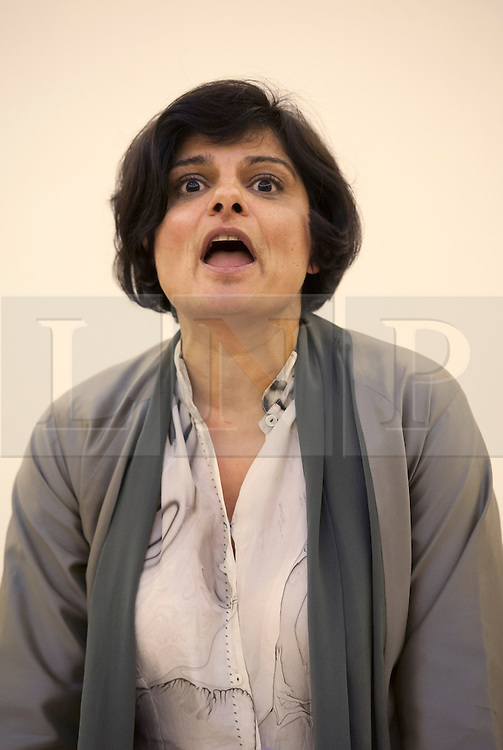 © Licensed to London News Pictures.  31/03/2015. Bristol, UK.  General Election 2015.  Thangam Debbonaire, Labour candidate for Bristol West.  Candidates for the Bristol West constituency take part in Bristol Women's Voice Women's Question Time at the Unitarian Chapel, Brunswick Square.  Bristol West was held by Stephen Williams for the Lib Dems at the last election with a majority of more than 11,000, but both Labour and the Green Party are targeting the seat for a win.  Photo credit : Simon Chapman/LNP