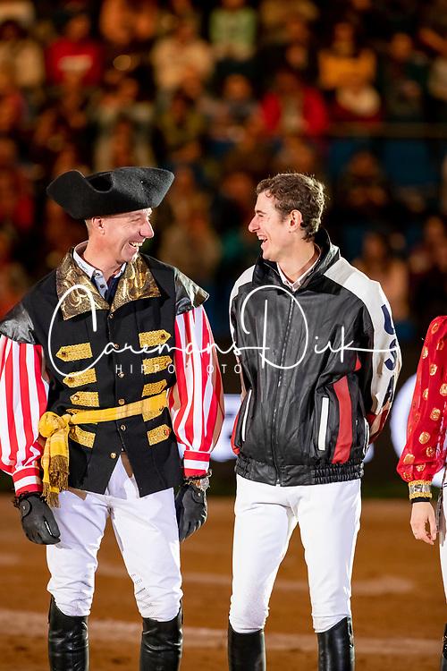 Vrieling Jur, NED, Verlooy Jos, BEL<br /> Stuttgart - German Masters 2018<br /> © Hippo Foto - Stefan Lafrentz