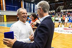 Tone Tiselj during Exhibition game of Slovenian women handball legends on 29th of September, Celje, Slovenija 2018