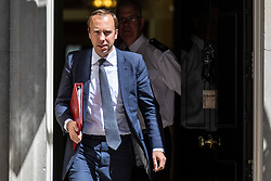 © Licensed to London News Pictures. 26/06/2018. London, UK. Secretary of State for Culture, Media and Sport Matt Hancock leaves 10 Downing Street after the Cabinet meeting. Photo credit: Rob Pinney/LNP
