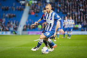 Brighton striker Jiri Skalak (38) during the Sky Bet Championship match between Brighton and Hove Albion and Queens Park Rangers at the American Express Community Stadium, Brighton and Hove, England on 19 April 2016. Photo by Phil Duncan.
