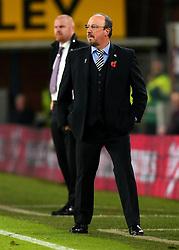 Newcastle United manager Rafa Benitez and Burnley manager Sean Dyche - Mandatory by-line: Robbie Stephenson/JMP - 30/10/2017 - FOOTBALL - Turf Moor - Burnley, England - Burnley v Newcastle United - Premier League