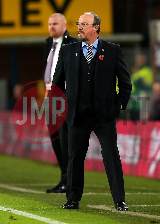 Newcastle United manager Rafa Benitez and Burnley manager Sean Dyche - Mandatory by-line: Robbie Stephenson/JMP - 30/10/2017 - FOOTBALL - Turf Moor - Burnley, England - Burnley v Newcastle United - Premier League