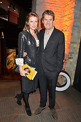 TIM BEVAN and his wife AMY at A Night of Motown in aid of Save The Children UK held at The Roundhouse, Chalk Farm Road, London on 3rd March 2016.