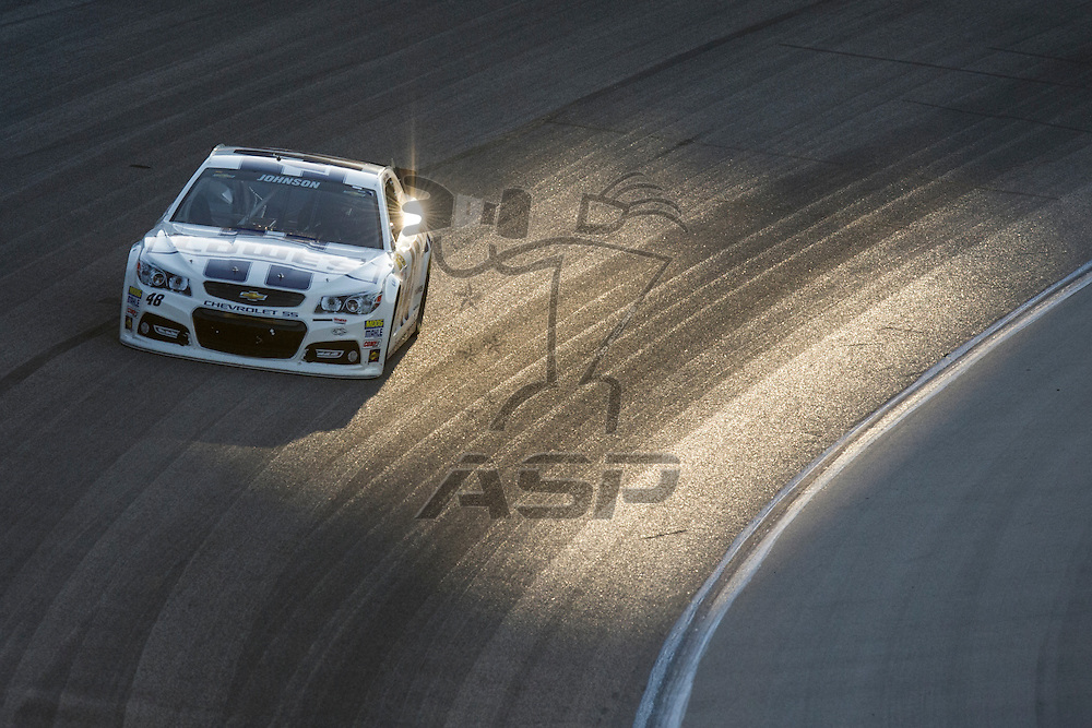 Fort Worth, TX - APR 13, 2013: The NASCAR Sprint Cup Series takes to the track for the NRA 500 at the Texas Motor Speedway in Fort Worth, TX.