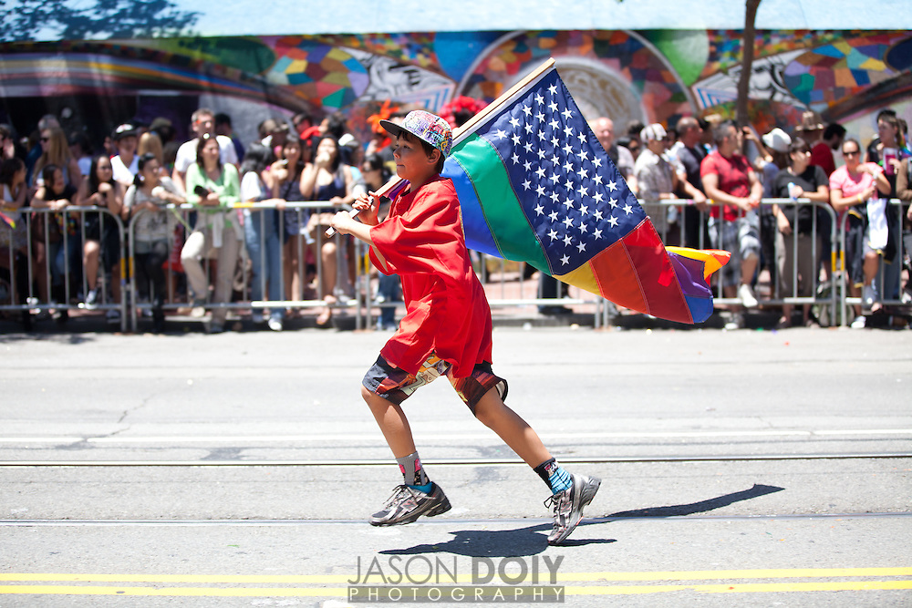 San Francisco Gay Pride Parade. photo by Jason Doiy.©-All Rights Reserved