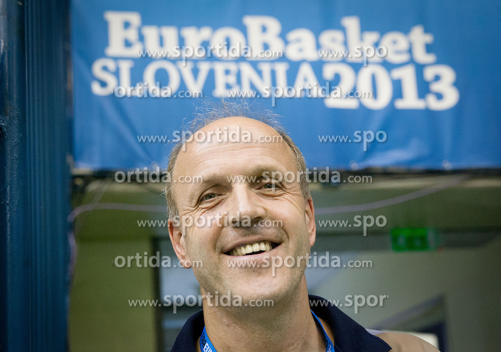 Dusan Hauptman during basketball match between National teams of Croatia and Georgia in Round 1 at Day 2 of Eurobasket 2013 on September 5, 2013 in Arena Zlatorog, Celje, Slovenia. (Photo by Vid Ponikvar / Sportida.com)