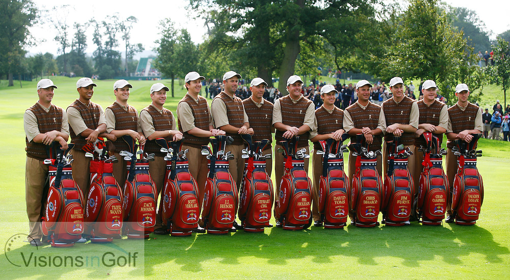 The USA Team Photocall <br /> at the Ryder Cup Matches 2006, K Club, Ireland, 060921<br /> Picture Credit: Mark Newcombe / visionsingolf.com