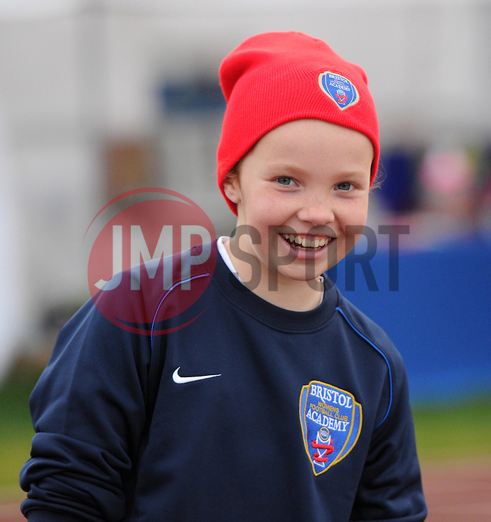 A Bristol Academy junior player - Mandatory by-line: Paul Knight/JMP - Mobile: 07966 386802 - 04/10/2015 -  FOOTBALL - Stoke Gifford Stadium - Bristol, England -  Bristol Academy Women v Liverpool Ladies FC - FA Women's Super League