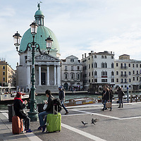 Venice council wants to introduce a ban on luggage equipped with hard rubber wheels, forcing the city's 27 million annual visitors to instead use suitcases that roll on air-filled, softer wheels that make less noise.