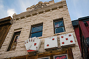 Historic Mizpah Hotel in Tonopah nevada is a favorite stop for good eats and a cool atmosphere.