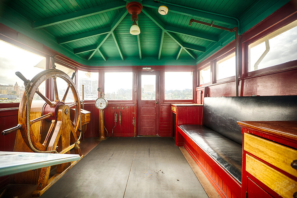 """From 1890 to 1957, the Eureka ferried automobiles from one end of the San Francisco Bay to the other. It was the last of it's kind to be powered by a single cylinder """"walking beam"""" steam engine. Simple and reliable."""