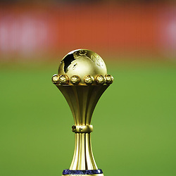 Illustration African Cup of Nations trophy during the 2019 Africa Cup of Nations final soccer match between Senegal and Algeria at the Cairo International Stadium on 19th July 2019Photo : Ulrik Pedersen / Icon Sport