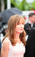 Isabelle Huppert, arriving at the DA-REUN NA-RA-E-SUH (IN ANOTHER COUNTRY)  gala screening at the 65th Cannes Film Festival France. Monday 21st May 2012 in Cannes Film Festival, France.