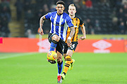Sheffield Wednesday defender Liam Palmer (2) in action during the EFL Sky Bet Championship match between Hull City and Sheffield Wednesday at the KCOM Stadium, Kingston upon Hull, England on 12 January 2019.
