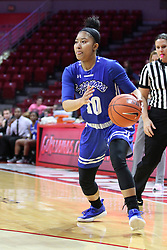 NORMAL, IL - February 10: Tamara Lee during a college women's basketball Play4Kay game between the ISU Redbirds and the Indiana State Sycamores on February 10 2019 at Redbird Arena in Normal, IL. (Photo by Alan Look)