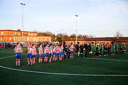 Teams - Rogan Thomson/JMP - 11/04/2017 - FOOTBALL - GFA HQ - Bristol, England - Cheltenham Town v St Nicholas Reserves - Gloucestershire FA Womens' Trophy Final.