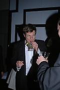 Zac Goldsmith. The Black and White Winter Ball. Old Billingsgate. London. 8 February 2006. -DO NOT ARCHIVE-© Copyright Photograph by Dafydd Jones 66 Stockwell Park Rd. London SW9 0DA Tel 020 7733 0108 www.dafjones.com