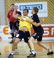 Håndball, 11. desember 2002. Eliteserien, Gildeserien herrer, Kragerø - Stord 25-32. Jon Petter Sando , Kragerø
