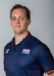 10-05-2018 NED: Team shoot Dutch volleyball team women, Arnhem<br /> Willem de Wit, Videoscout
