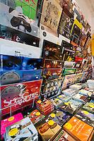 Hljómplötubúðin Smekkleysa, Laugavegi 35. Smekkleysa Record Store at Laugavegur 35.