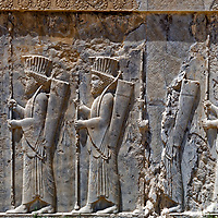 Persepolis staircase reliefs