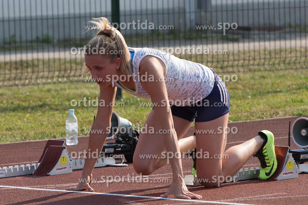 Sabina Veit during Day 1 of Slovenian Athletics National Championships 2013, on July 27, 2012 in Celje, Slovenia. (Photo by Gregor Krajnčič / Sportida.com)