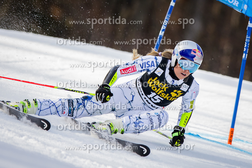 Lindsey Vonn (USA) during 7th Ladies' Giant slalom at 52nd Golden Fox - Maribor of Audi FIS Ski World Cup 2015/16, on January 30, 2016 in Pohorje, Maribor, Slovenia. Photo by Ziga Zupan / Sportida