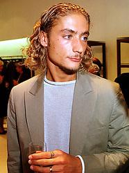 MR JULIAN CERRUTI son of designer Nino Cerruti, at a party in London on 8th September 1999.MWB 13