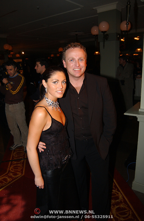 Kerstborrel Princess 2004, Gordon en Belle Perez
