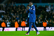 Leeds United forward Jean-Kevin Augustin (29) reacts during the EFL Sky Bet Championship match between Leeds United and Millwall at Elland Road, Leeds, England on 28 January 2020.