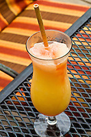 Fruit drink at Restaurant Brisa Azul at Lapa Rios Ecolodge, Osa Peninsula, Costa Rica