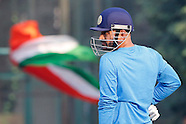India and New Zealand Nets at Mohali