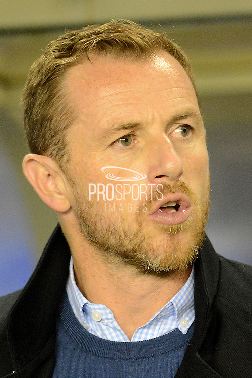 Birmingham City manager  Gary Rowett during the Sky Bet Championship match between Birmingham City and Blackburn Rovers at St Andrews, Birmingham, England on 3 November 2015. Photo by Alan Franklin.