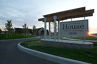Exterior images of Hospice of North Idaho's Hopsice House.