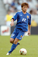 FOTBALL - CONFEDERATIONS CUP 2003 - GROUP A - 030618 - NEW ZEALAND v JAPAN - NOBUHISA YAMADA (JAP) - PHOTO STEPHANE MANTEY / DIGITALSPORT