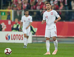 October 11, 2018 - Chorzow, Poland - Grzegorz Krychowiak (POL) during the UEFA Nations League A group three match between Poland and Portugal at Silesian Stadium on October 11, 2018 in Chorzow, Poland. (Credit Image: © Foto Olimpik/NurPhoto via ZUMA Press)