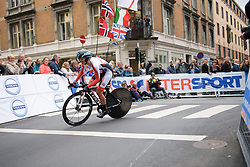 Martina Ritter at UCI Road World Championships Elite Women's Individual Time Trial 2017 a 21.1 km time trial in Bergen, Norway on September 19, 2017. (Photo by Sean Robinson/Velofocus)