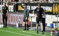 Fotball , 29. juli 2020 , Eliteserien  ,  Mjøndalen - Odd<br /> trener vegard Hansen