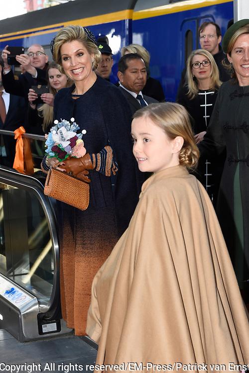 Koningsdag 2017 in Tilburg / Kingsday 2017 in Tilburg<br /> <br /> Op de foto / On the photo: Koningin Maxima en prinses Ariane /// Queen Maxima and Princess Ariane
